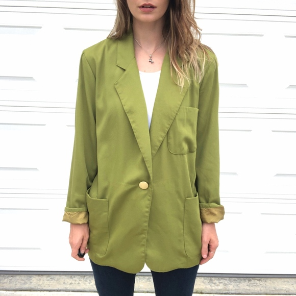 Vintage Jackets & Blazers - Vintage Forenza   Light Weight Long Line Blazer